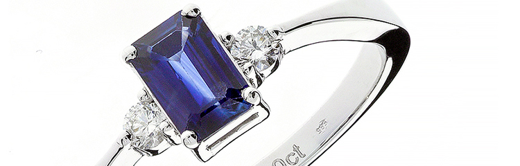 Sapphire and Diamond Jewelry